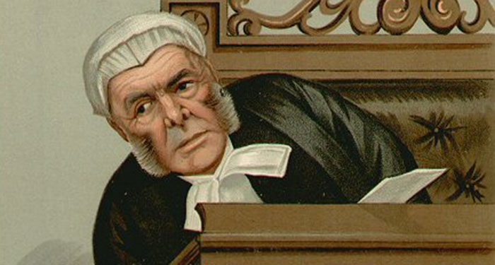 Judge Bacon Vanity Fair 4 November 1897